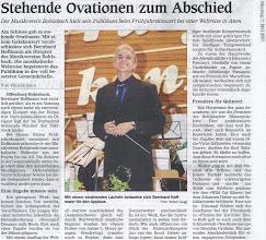 Photo: Zeitungsartikel im Offenburger Tageblatt, Montag 7. Mai 2007