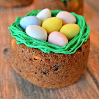 Spring Bird's Nest Cookies.