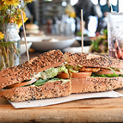 Halloumi with Avocado Sandwich