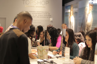 Photo: The busy tills at Topshop LA.  Shop LA style > http://bit.ly/UiMWFg