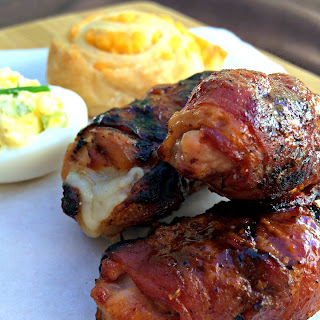 Ultimate Grilled Chicken Bombs.