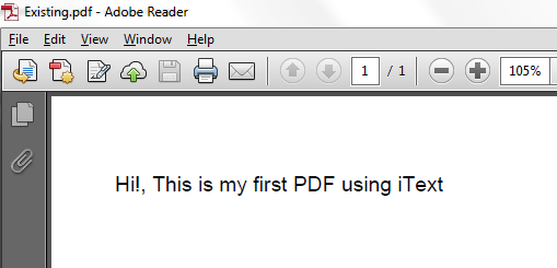 JavaMadeSoEasy com (JMSE): How to Modify - Add Text To Existing PDF