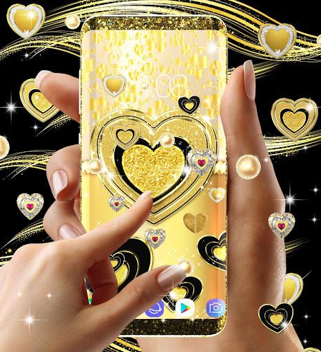 Gold live wallpaper 2020 android2mod screenshots 9