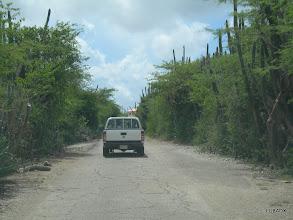 Photo: Camino a la casa de Hans PJ4LS