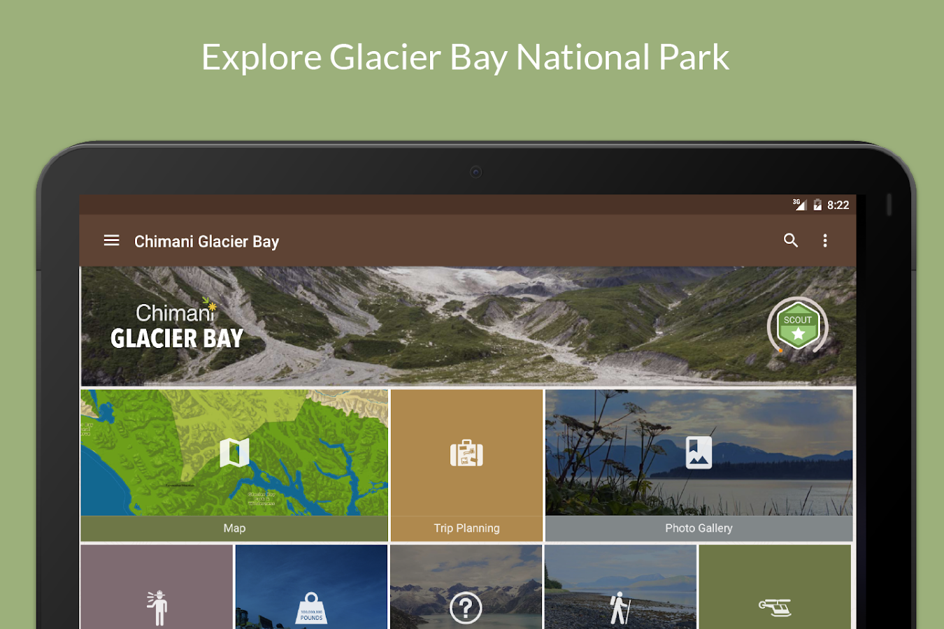 Glacier Bay NP by Chimani- screenshot