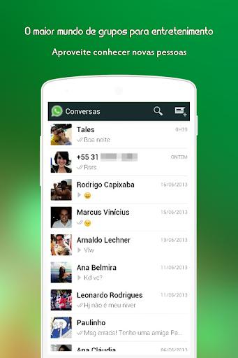 Grupos de Zap Messenger for PC