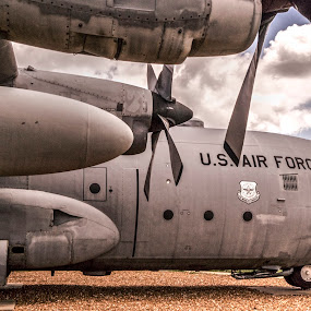 C-130 Hercules by Greg Bennett - Transportation Airplanes ( illinois, scott air force, hercules, c-130,  )