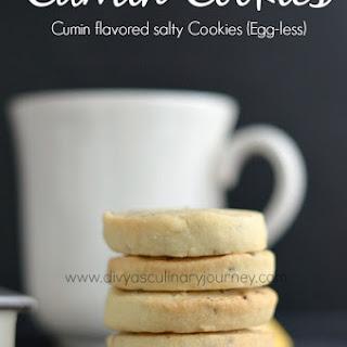 Cumin Cookies (Egg-Less) | Jeera Biscuits Recipe