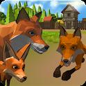 Fox Family - Animal Simulator 3d Game icon