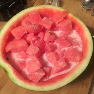 Watermelon Punch (수박 화채).