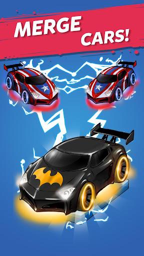 Merge Battle Car: Best Idle Clicker Tycoon game 1.0.70 screenshots 1