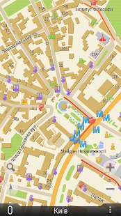 GPS navigator TourMap Mod