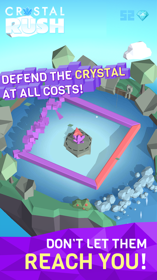 CRYSTAL RUSH! COLOR SWITCH IT!- screenshot
