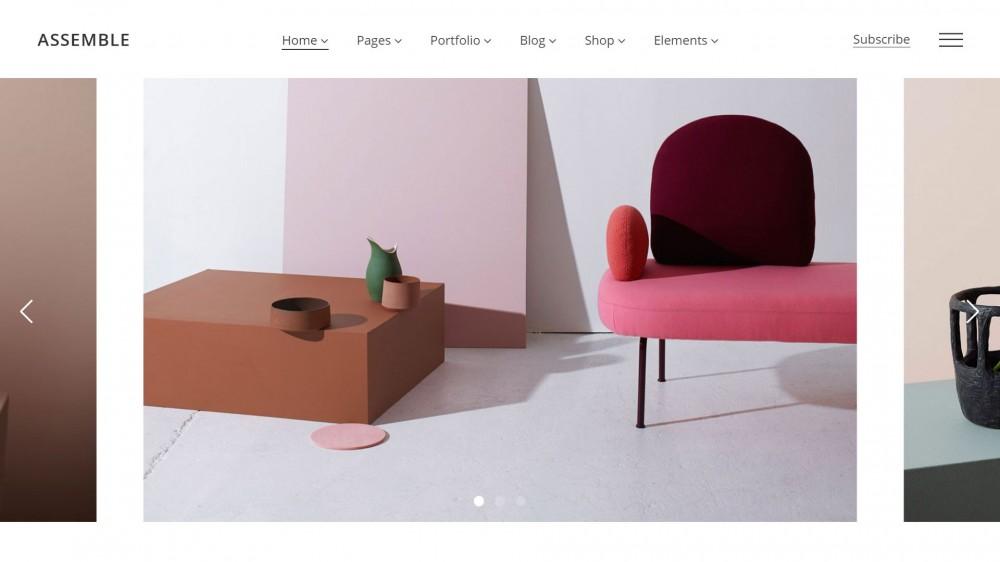 Assemble - Woocommerce furniture themes