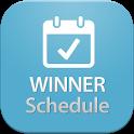 WINNER Schedule icon