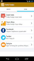 Screenshot of Türkü Radyo