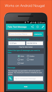 Fake Text Message- screenshot thumbnail