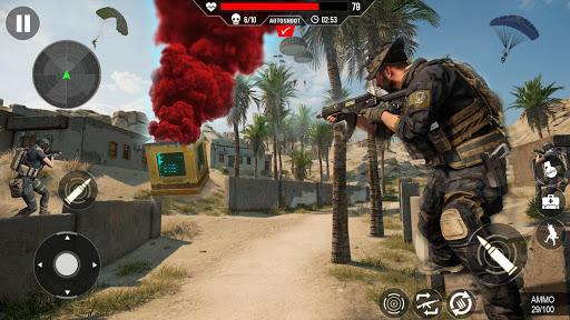 Commando Shooting Games 2020 - Cover Fire Action apkdemon screenshots 1