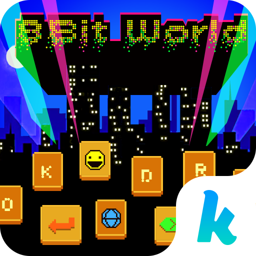 8-Bit World ????????Keyboard Theme 漫畫 App LOGO-硬是要APP