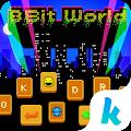 8-Bit World ????????Keyboard Theme download