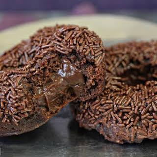 Chocolate Blackout Doughnuts.