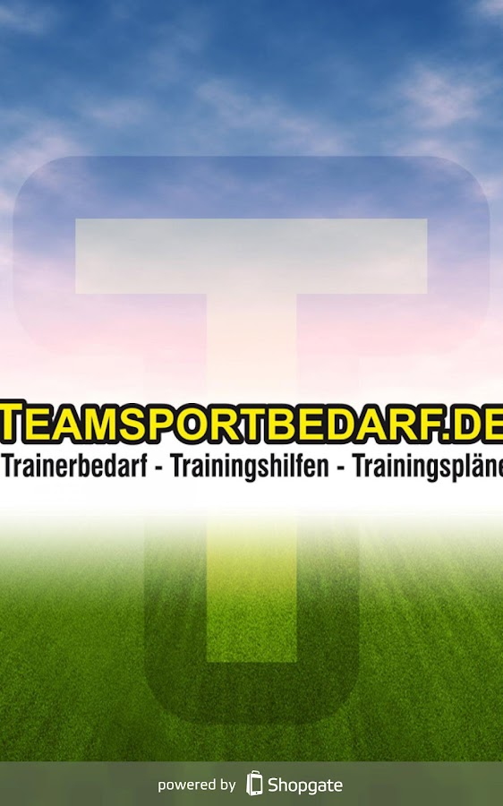 Teamsportbedarf.de- screenshot