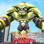 Superhero Incredible Monster Hero City Battle Icon