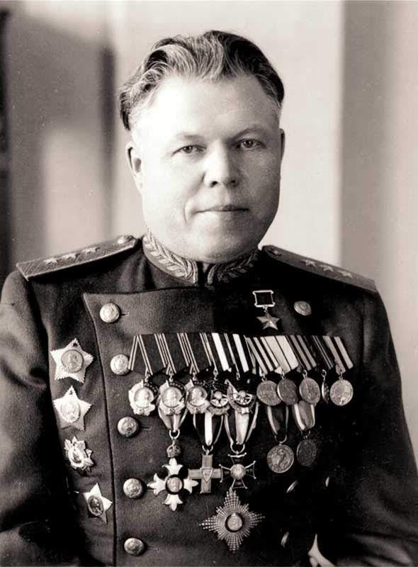 Малинин М.С. нач-к штаба 16 Армии
