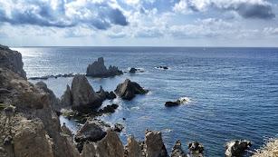 Cabo de Gata es un aliciente turístico.