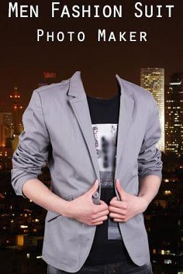 Men Fashion Suit Photo Maker - screenshot