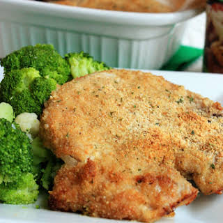 Breaded Ranch Pork Chops.