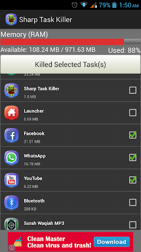 Sharp Task Killer