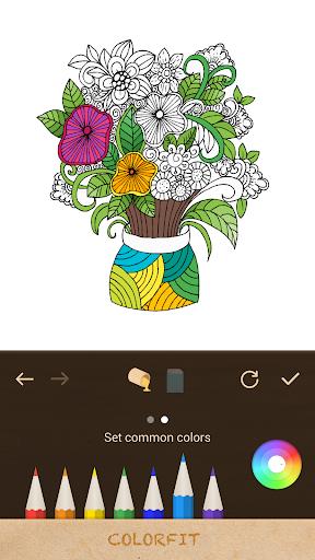 秘密樂園Colorfit 填色本 填色書coloring