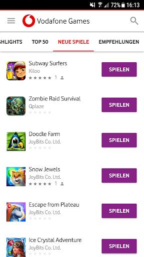 Vodafone Games 1.6.2 screenshots 4