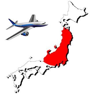 Авиаперевозки грузов из Японии