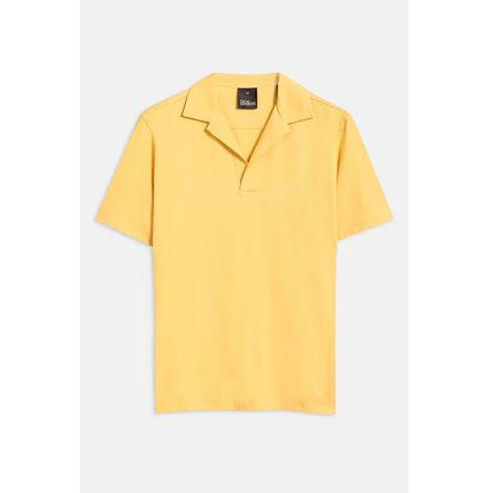 Oscar Jacobson Cornelis poloshirt ochre yellow