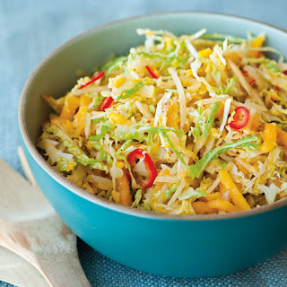 Cabbage, Pear and Ginger Slaw