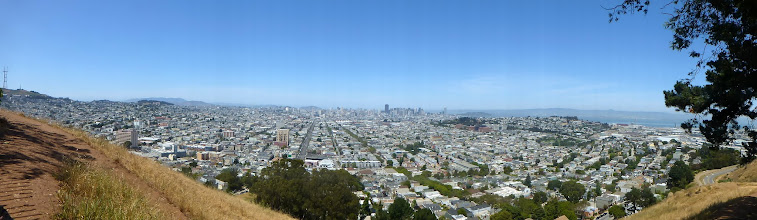 Photo: From top of Bernal Heights