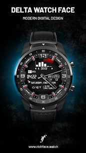 Delta Watch Face – MOD + APK + DATA Download 3