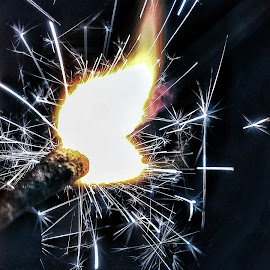 Fireworks  by Rajesh Mondal - Abstract Fire & Fireworks ( mobilography )