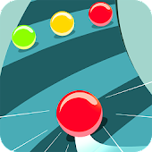 Color Ball Road - Twisty Tube icon