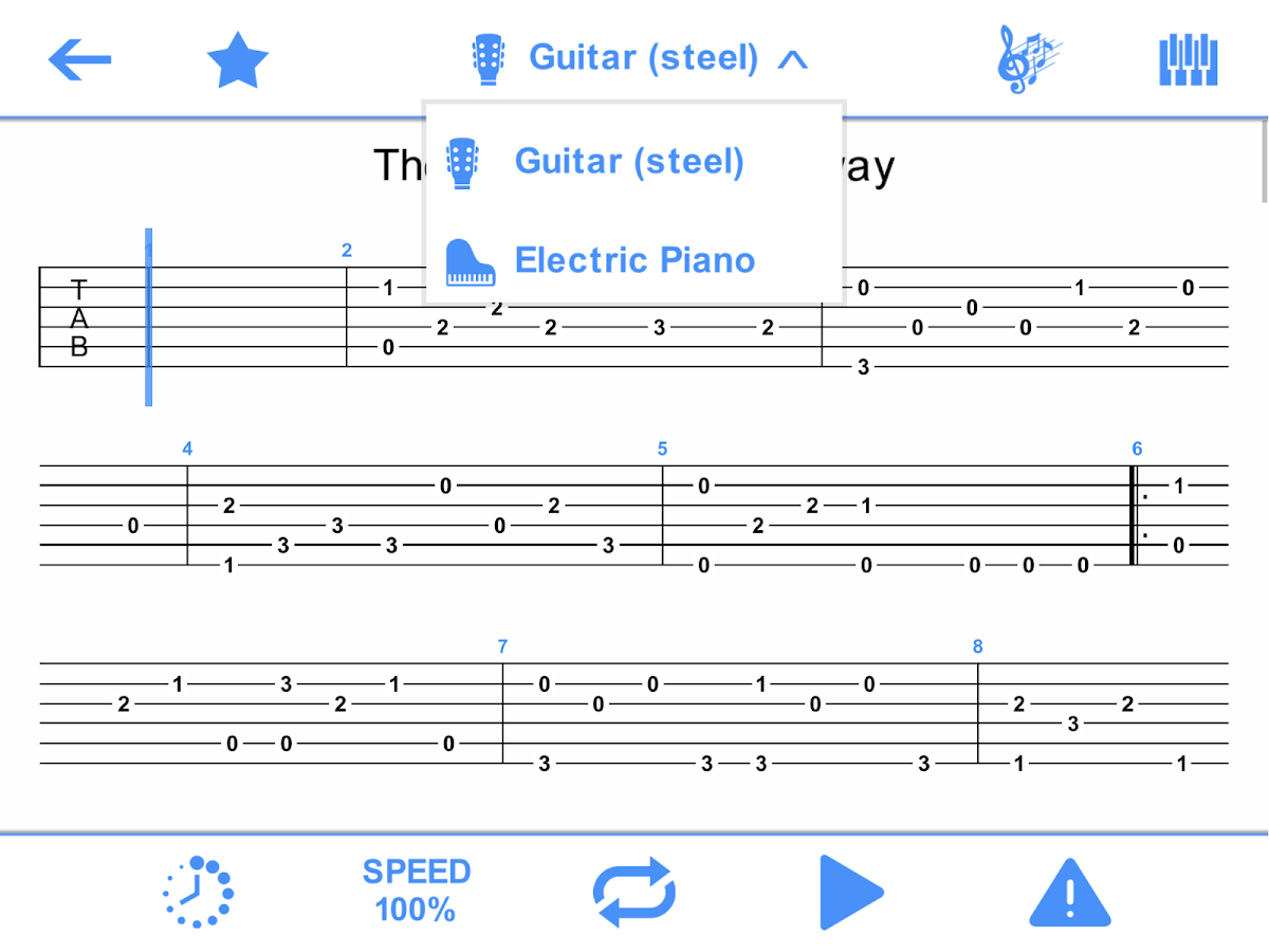 Perfect guitar tabs chords android apps on google play perfect guitar tabs chords screenshot hexwebz Images