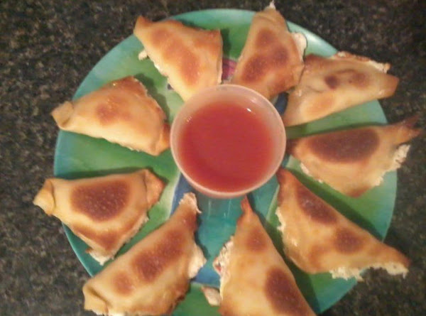 Cheesy Crab Wontons Recipe