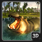 Ultimate Wild Hippo Hunter:Jungle Survival Sim