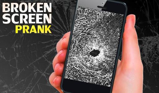 Broken Screen Finger joke screenshot
