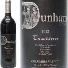 Logo for Dunham Cellars Trutina
