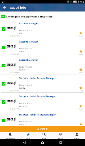 Praca.pl - jobs - screenshot