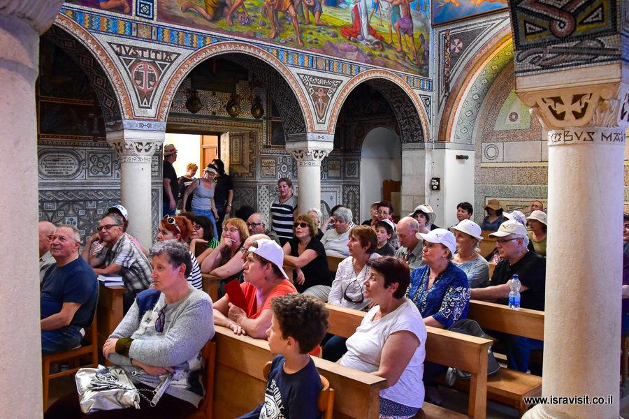 Экскурсия в монастырь Бейт Джамал. Израиль