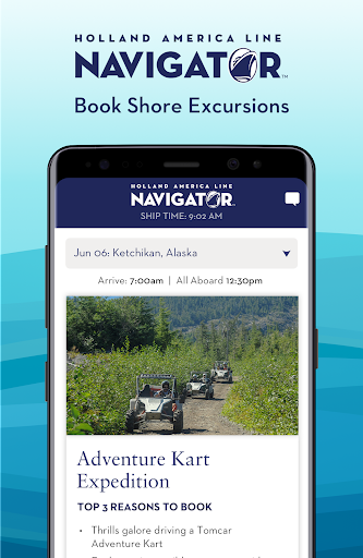 Holland America Line Navigator 1.7.5 screenshots 5