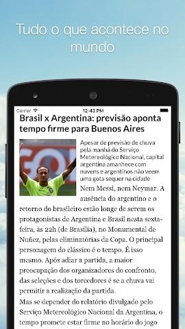 android Spacenews - Notícias Screenshot 1